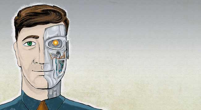 Traders versus robôs