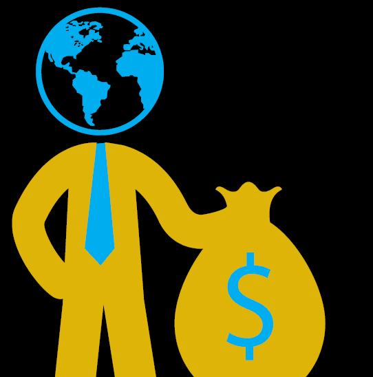 Investidores rumam para o exterior em busca de ações