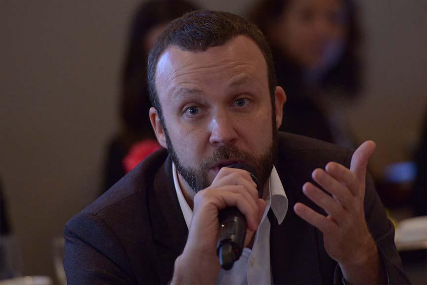 """""""O bundão que corre menos risco, no fim do dia, ao menos sobrevive"""", Dennis Herszkowicz, Vice-presidente financeiro de administração e relações com investidores da Linx"""