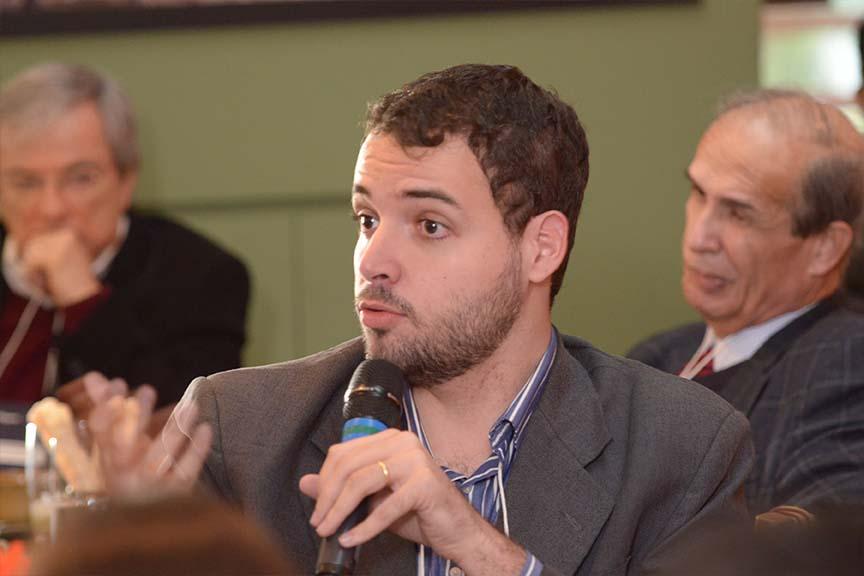 """""""Para a sustentabilidade se tornar um discurso real, é preciso sair da ideia de abraçar árvore"""", Fernando Malta, assessor de relações institucionais da CEBDS"""