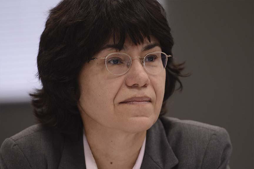 Claudia de Oliveira Hasler, gerente da superintendência de desenvolvimento de normas da CVM