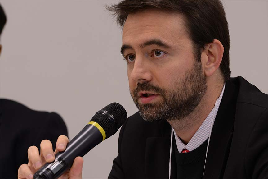 Diogo Berger, responsável por project finance do Santander