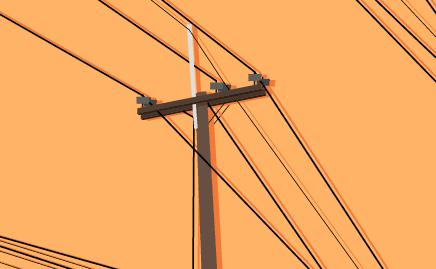 Errado por linhas retas