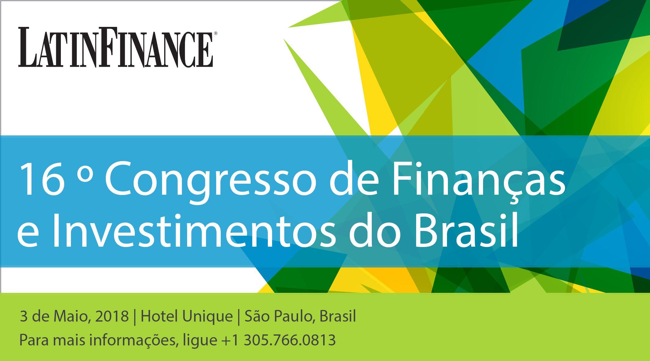 16º Congresso de Finanças e Investimentos do Brasil