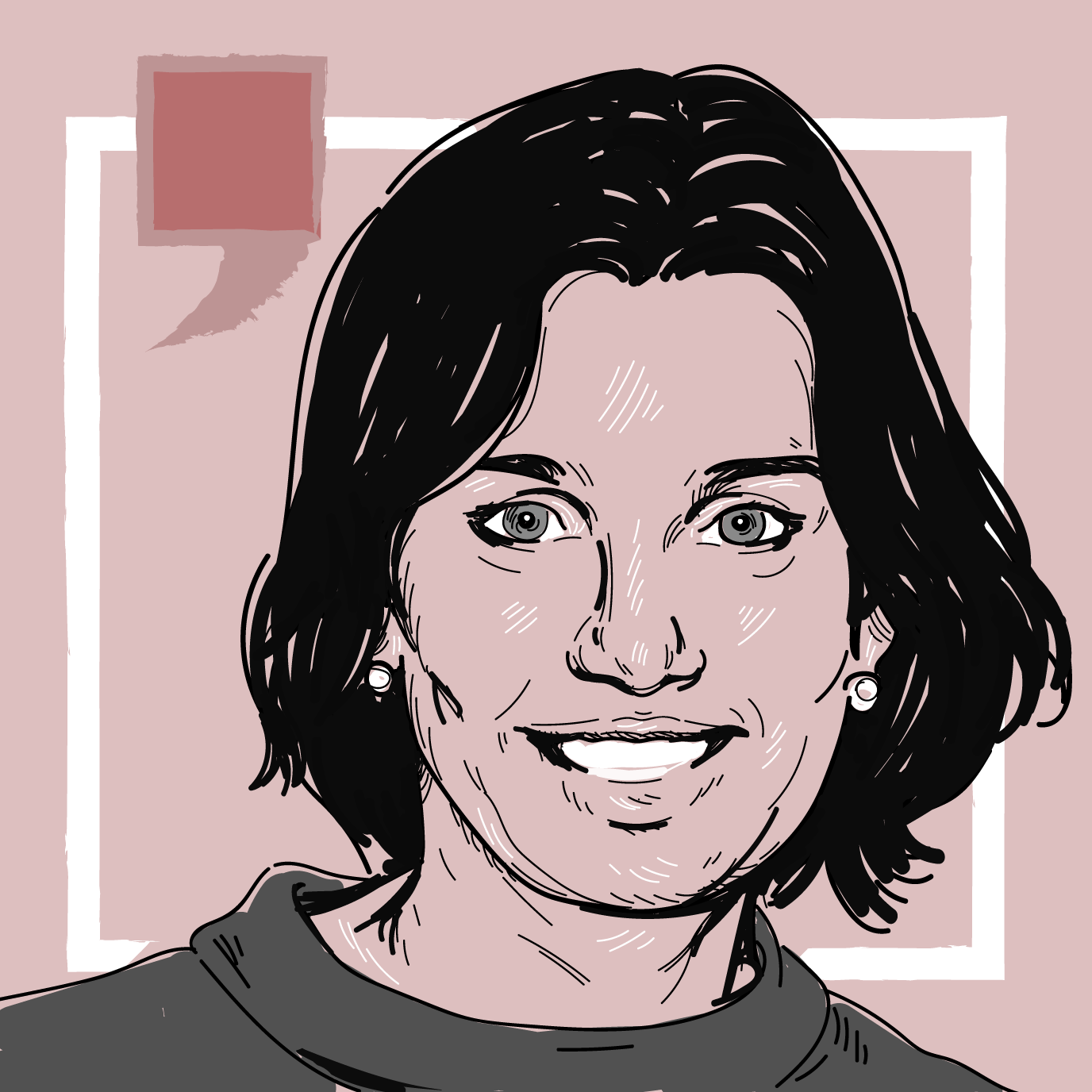 Ana Siqueira em ilustração