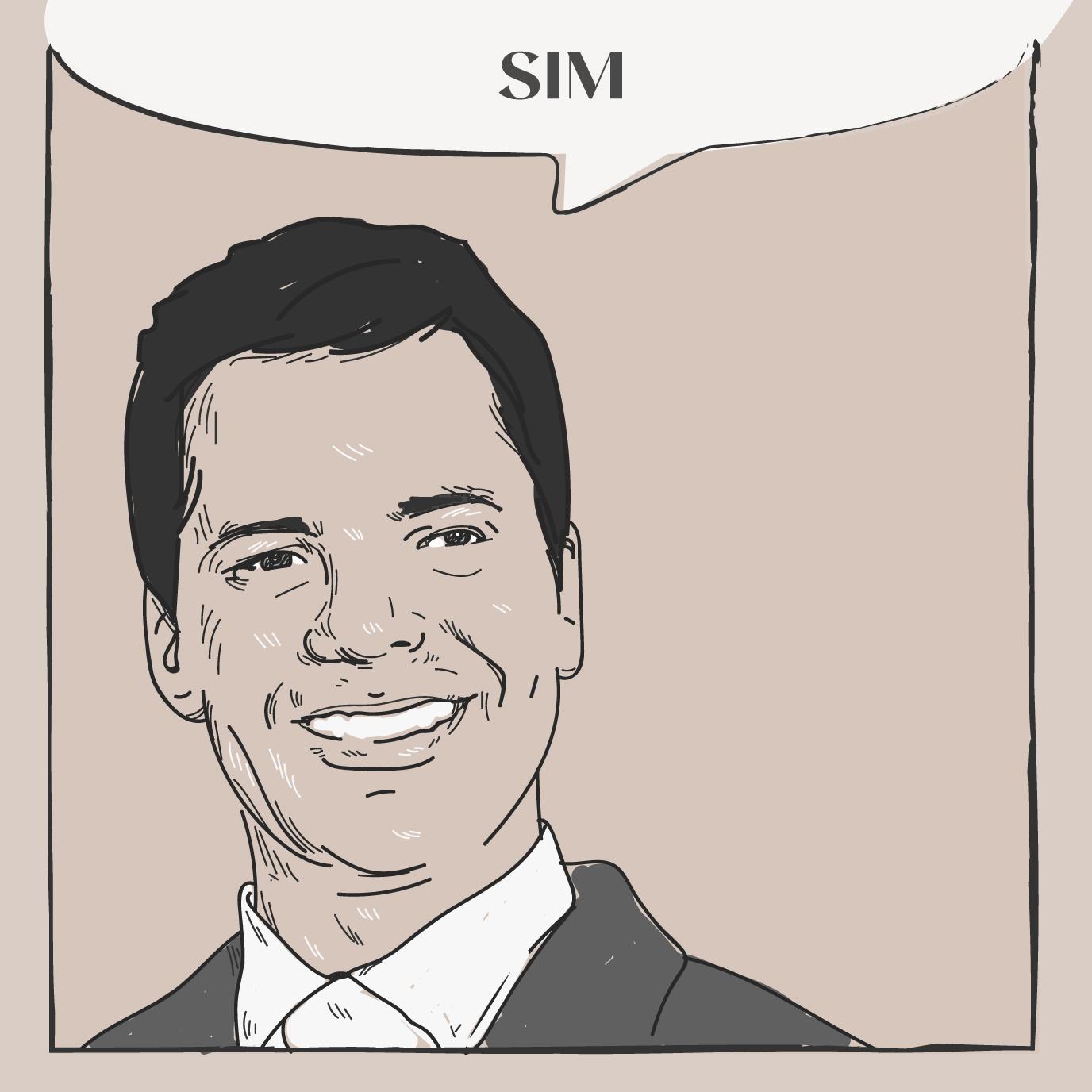Marcelo Cavali em ilustração