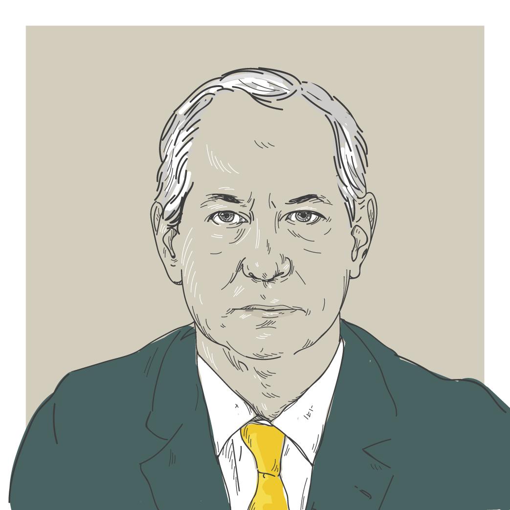 Ilustração digital do candidato a presidência Ciro Gomes