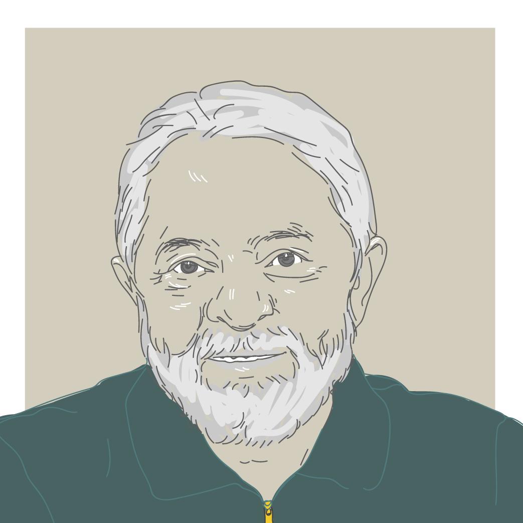 Ilustração Digital do ex-presidente Lula