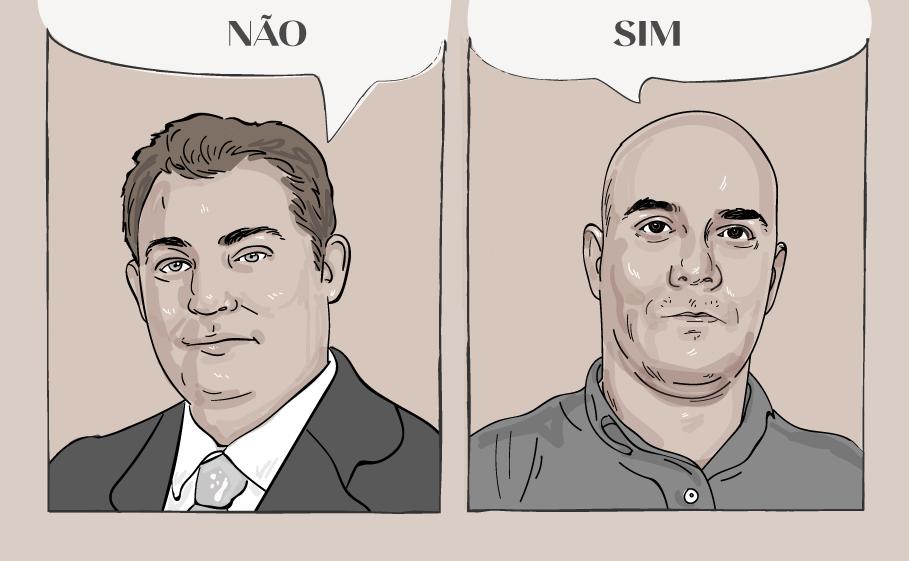 Daniel Kalansky e Evandro Pontes
