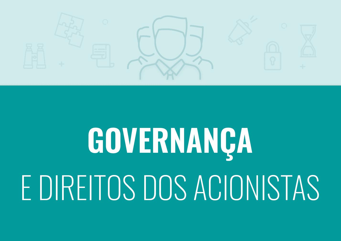Curso Governança e direitos dos acionistas