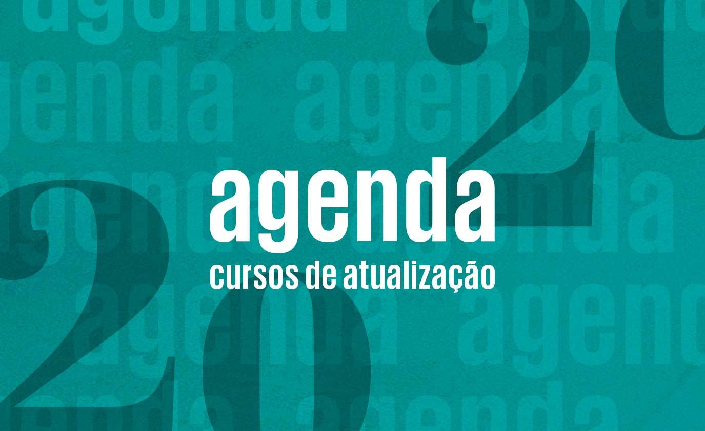 Agenda de cursos de atualização 2020