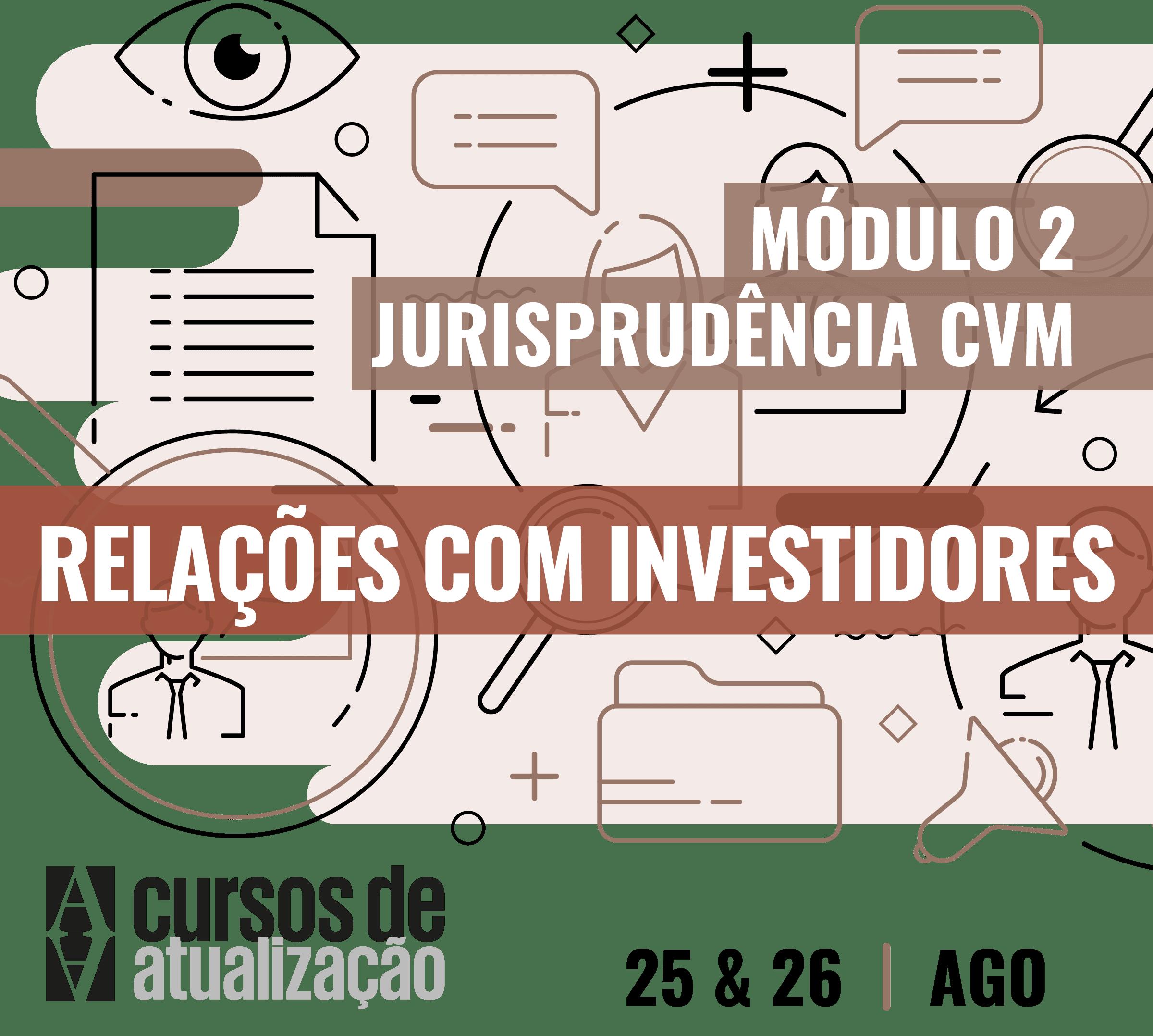 Módulo II – Relações com investidores