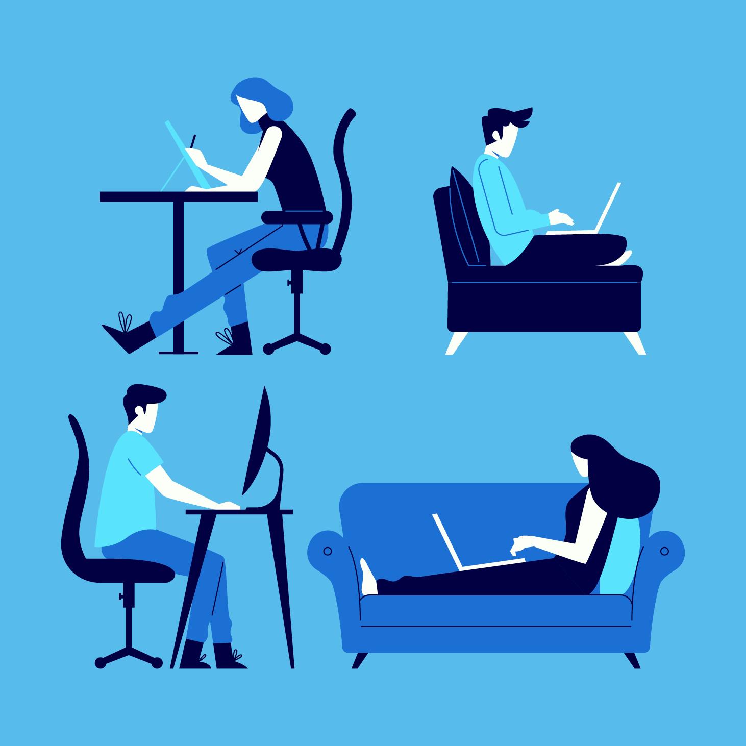 Oito em cada dez companhias abertas planejam reforçar home office