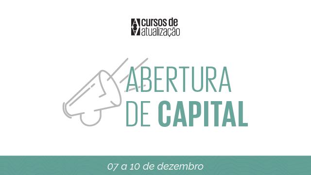 Curso Abertura de Capital