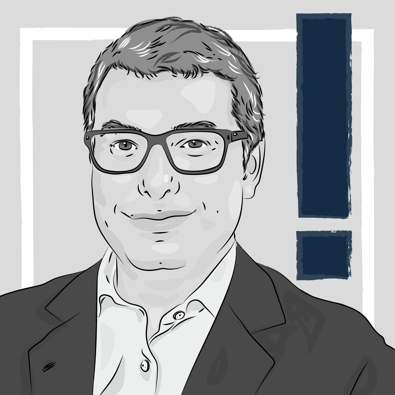 Ilustração do articulista Roberto Haddad, em texto sobre ESG e private equity